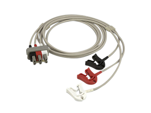 Electrode set, 3-lead ECG accessories