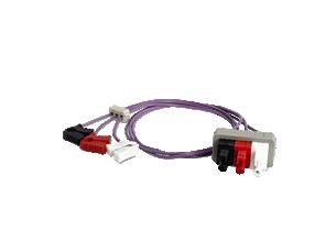 3-adr. Elek.kabel mit Miniclip Elektrodenkabel