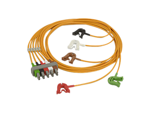 OR 5 lead Grabbers safety AAMI Lead Set
