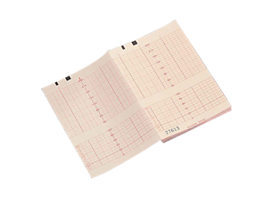 Thermopapier f. Fetalüberw. Leporellofalzung