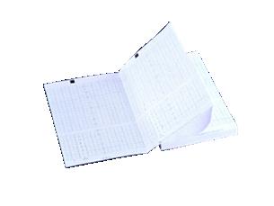 Papier d'enregistrement thermochimique pour moniteur fœtal Pliage en accordéon