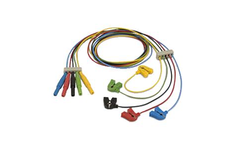 Reusable EEG miniclip leadset Lead Set