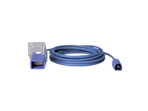 Multi-patient, 8-pin to 9-pin D-sub adapter cable, 3 m (9.8 ft)  Pulse oximetry supplies