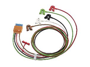 5-adriges Elektrodenkabel mit Clip, AAMI, OP Elektrodenkabel