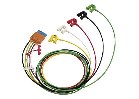 Cbl 5 lead set Grabber IEC OR Lead Set