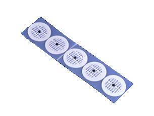Elektrode mit röntgendurchlässigem Schaumstoffhaftring für Erwachsene Elektrode