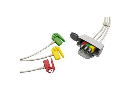 3-lead set grabber IEC Telemetry Lead Set