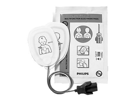 Multifunkt. Defibrillator-Pads Plus, Kleinkinder Pads