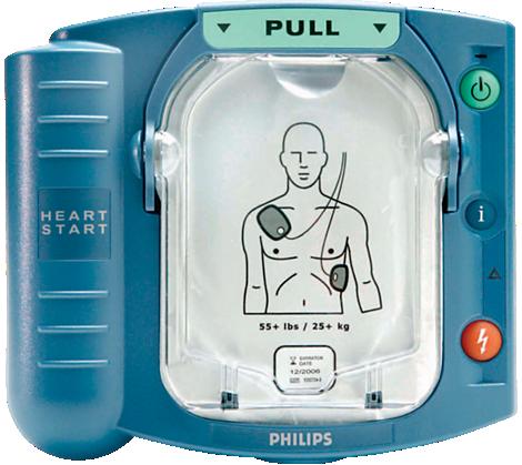 HeartStart automatyczne defibrylatory zewnętrzne (AED)