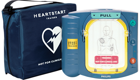 HeartStart Instructor de uso de AED