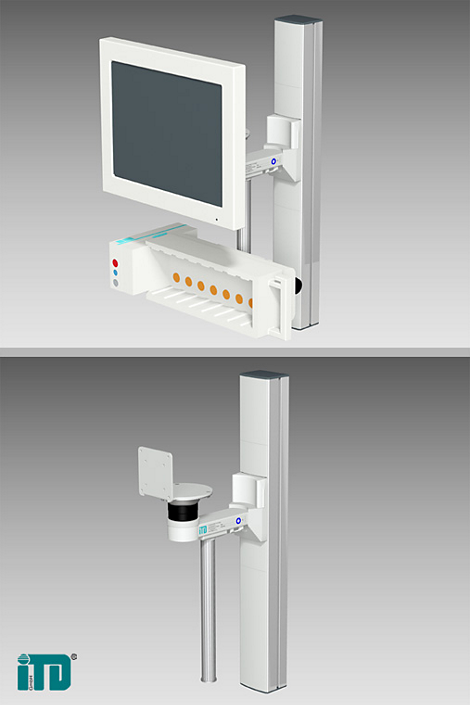 IntelliVue MP90 Flatscreen Mounting solution