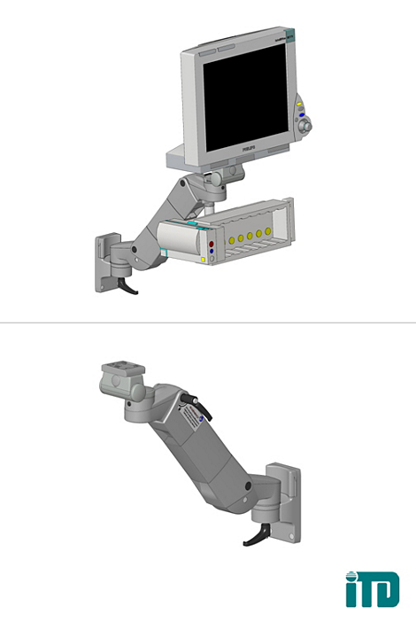 IntelliVue MP60/MP70 Mounting solution