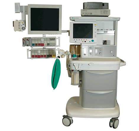 IntelliVue MP90 Anesthesia Machine Mounting Mounting solution