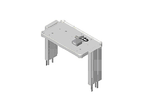Avalon CTS Avalon CTS Mounting Upgrade for M2740A-C02 Cart