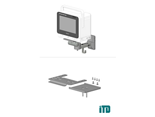 IntelliVue MX400/MX450/MX500/MX550 Mounting solution