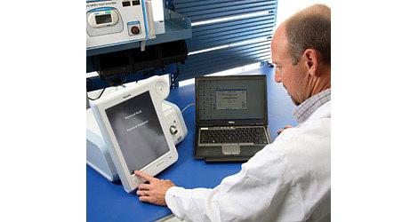 Respironics Sistema de diagnóstico remoto