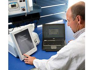Respironics Remote diagnostic system