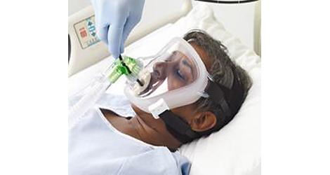 Respironics Bronchoscopy Elbow Bronchoskopie-Winkelstück