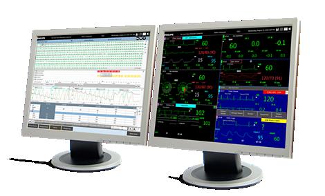 IntelliVue Sistema di monitoraggio centrale
