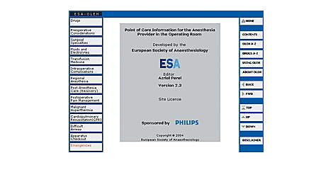 Clinical Decision Support On-line electronic help