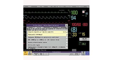 Протокол Наблюдения  Приложение для скрининга и контроля лечения сепсиса