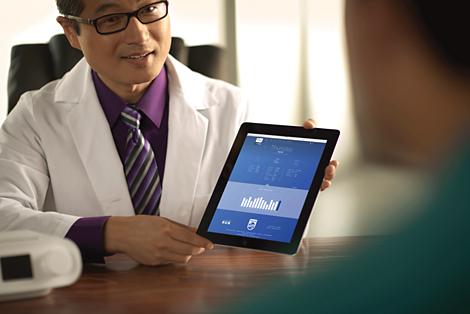 SleepMapper Ajude os seus pacientes com AOS ter um papel ativo na sua terapia do sono