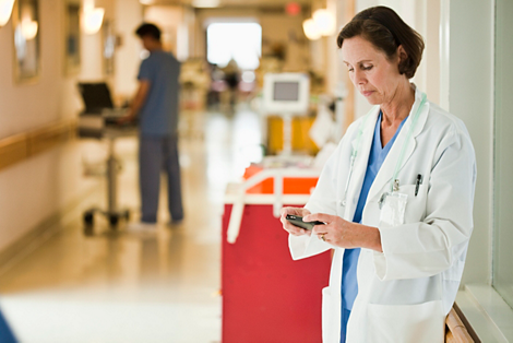 IntelliVue Mobile Patient Access Brings bedside to your side
