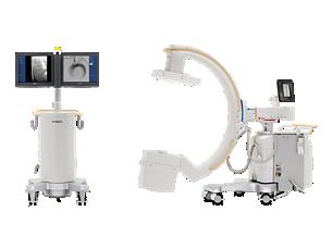 Veradius Unity Mobile C-arm with Flat Detector