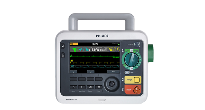 Efficia DFM100 defibrillator monitor – Philips Healthcare