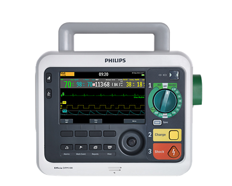 Desfribrilador / Monitor Efficia Desfibrilador/monitor