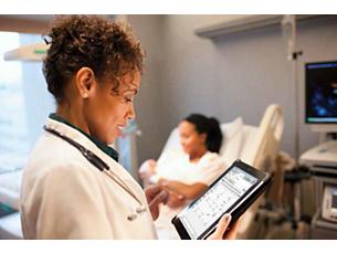 Tasy para iPad Maior rapidez na resposta aos processos e eventos clínicos e redução do risco de erros assistenciais