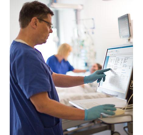 IntelliSpace Cuidados Críticos y Anestesia (ICCA) Sistema de información y gestión para cuidados críticos
