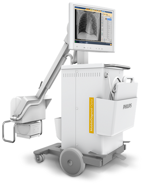 MobileDiagnost Opta Mobile X-ray system