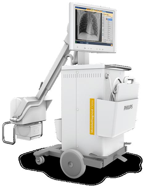MobileDiagnost Opta Sistema de rayos-x móvil