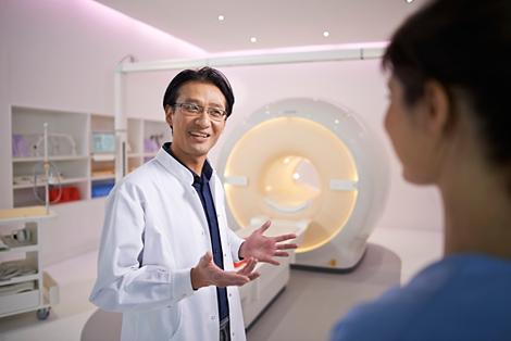 Magnetresonanztomographie Erfahren Sie mehr
