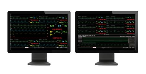 Efficia CMS200 Zentrales Überwachungssystem