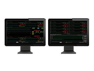 Efficia CMS200 Sistema de monitoreo central