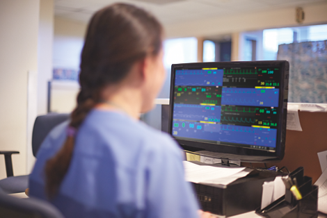 Efficia CMS200 Sistema di monitoraggio centrale