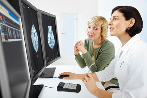 MammoDiagnost VU Mammographie-Workstation