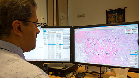 Image Management System viewer Pathology case viewer