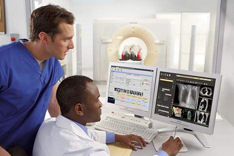 Pinnacle³ Tumor LOC: Integriertes Scannen und Planen