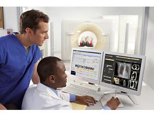 Pinnacle³ Powered by Pinnacle³ 14, Tumor LOC 4.2 is the first step in workflow integration between Philips Bri