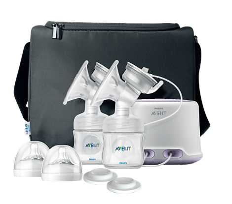 Comfort Double Electric Breast Pump Breast pump with massage cushion