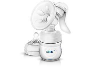 Comfort Manual Breast Pump Breast pump with massage cushion