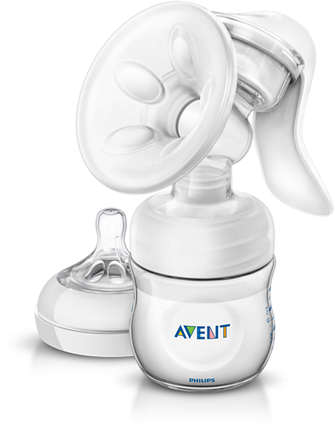 Comfort Manual Breast Pump Breast pump with massage cushion