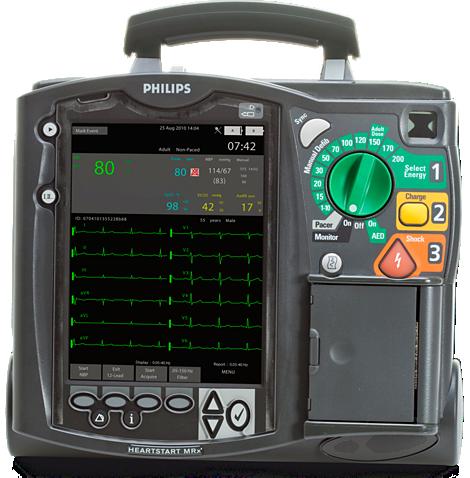HeartStart MRx 用于紧急救护的监控器/除颤器