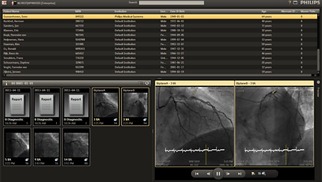 Xcelera Cardiology Enterprise Viewer