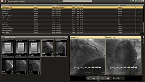 Xcelera Cardiology Enterprise Viewer