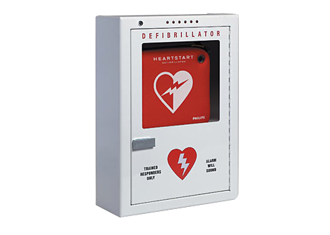 Defibrillator Cabinet (surface mount) Accessories