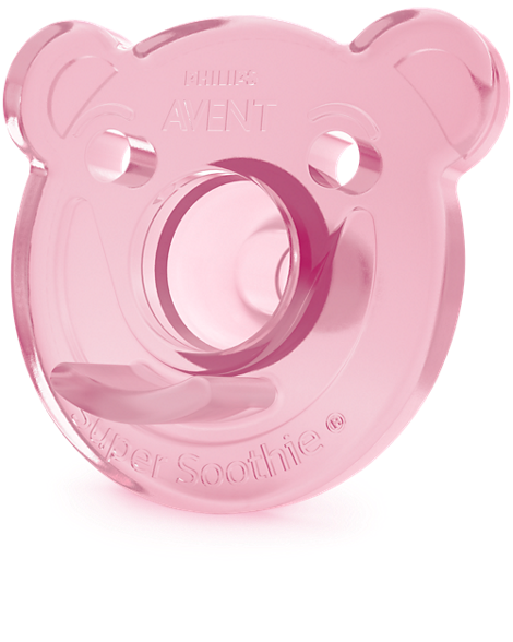 Soothie Shapes One piece pacifier